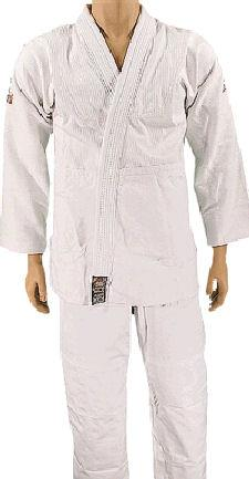 Double Weave White BJJ Uniform